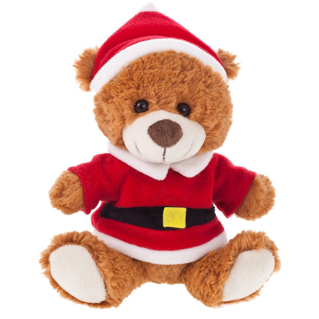Santi, plush Christmas teddy bear W4F0140