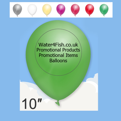 promotional 10 Neon Balloons,W4F0518,colour: Multicolour,Balloons,Water4Fish,promotional products