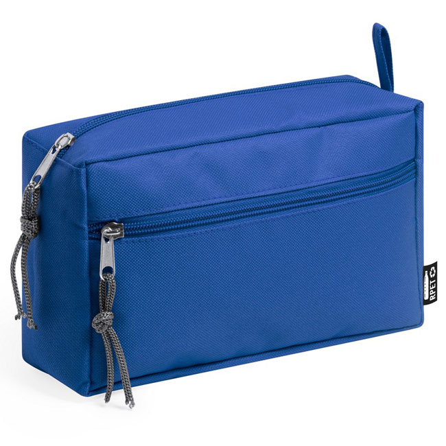 rPET cosmetic bag,Blue,W4V0899,Cosmetic Bags
