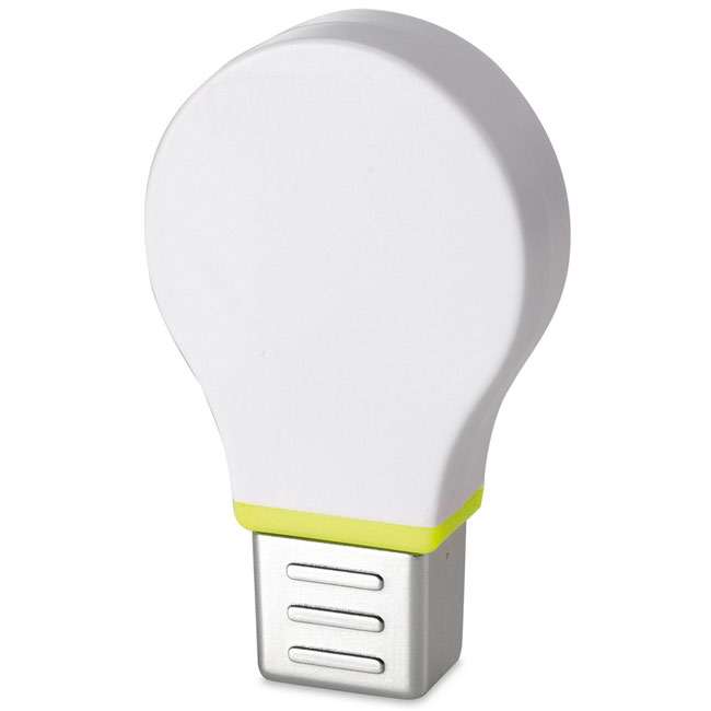 promotional Light bulb highlighter,W4V1580,colour: White,Pens & Pencils,Water4Fish,promotional products