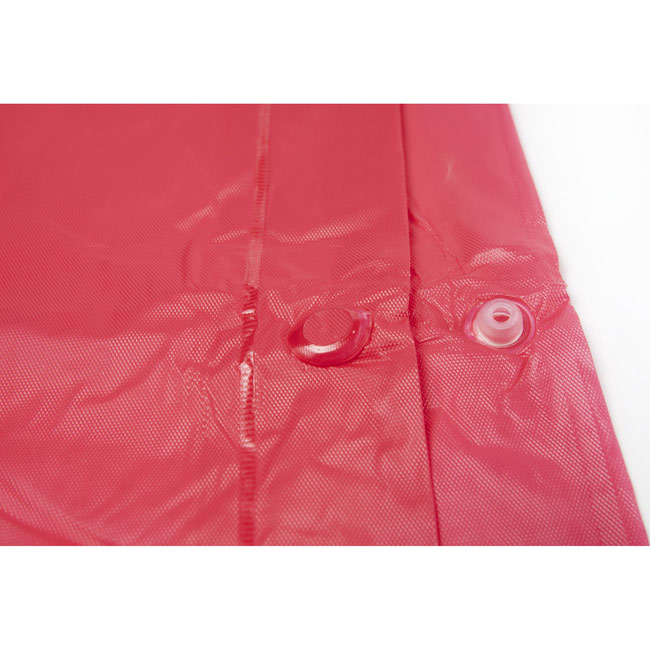 Vinyl poncho with hood,Red,W4V4124,Beach & Outdoor Items