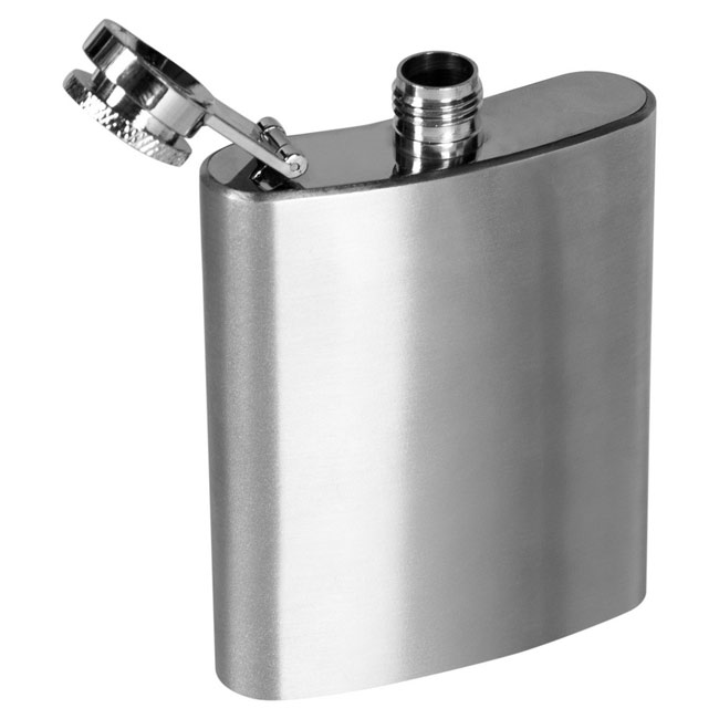 Hip flask 100 ml,Silver,W4V4531,Wine & Party