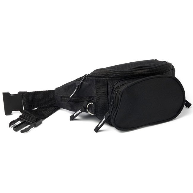 Waist bag with 4 zipped pockets,W4V4569,colour: Black,Bags & Suitcases,Water4Fish