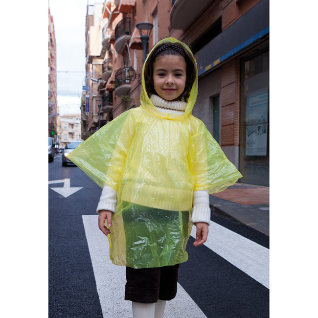 Kids poncho in ball,,W4V4622,Kids Promo Items