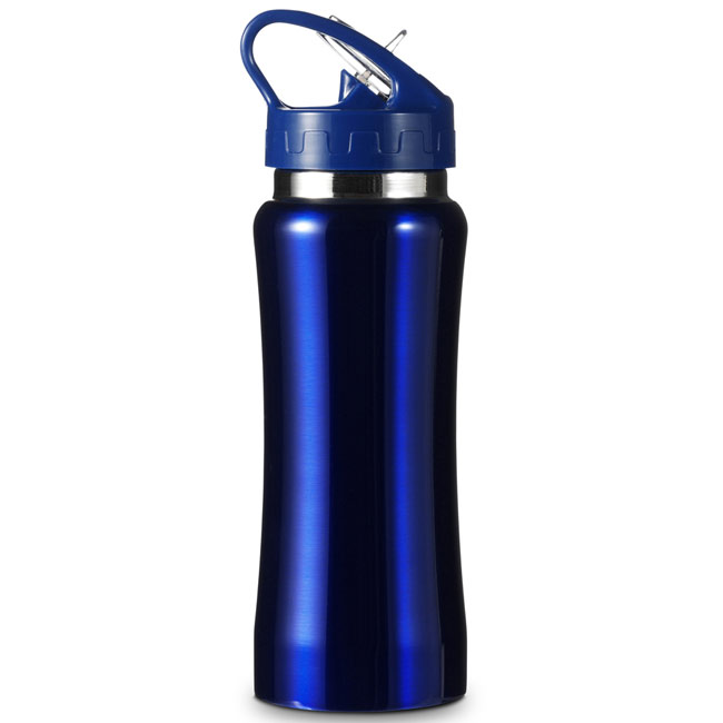 promotional Drinking bottle 0.6 l,W4V4656,colour: Navy Blue,Sport Items,Water4Fish,promotional products