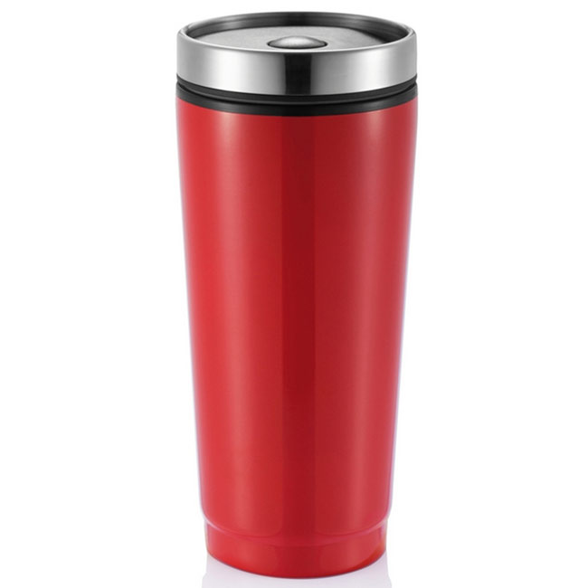 Mug stainless steel,W4V4972,colour: Red,,Water4Fish