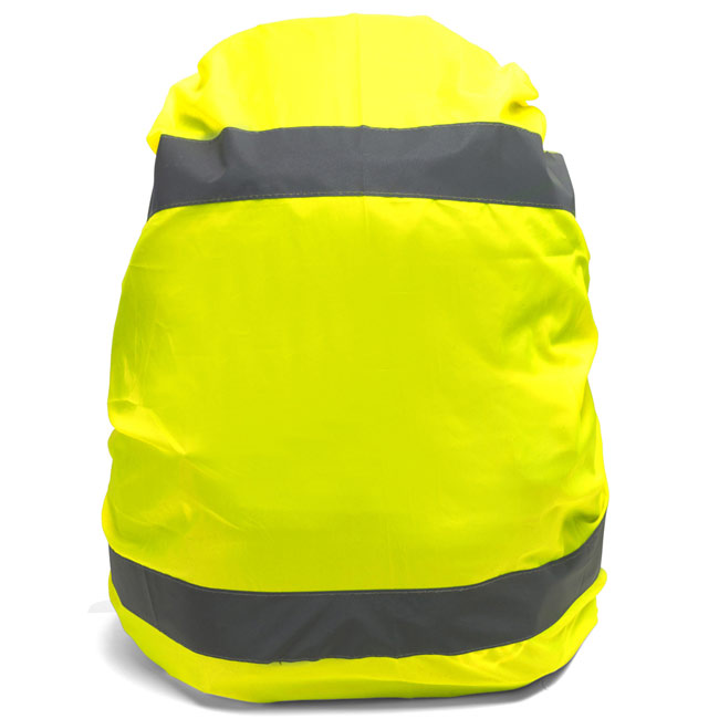 High visibility cover for rucksacks,Yellow,W4V5547,Sports Items