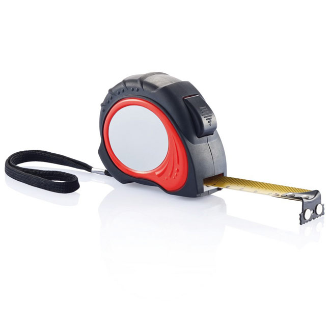 Measuring tape 8 m,W4V5732,colour: Red,Rulers & Measure Tapes,Water4Fish
