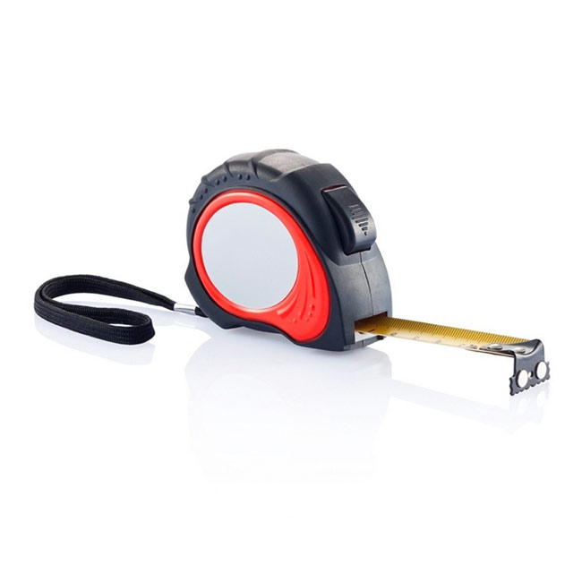 promotional Measuring tape 5 m,W4V5733,colour: Red,Rulers & Measure Tapes,Water4Fish,promotional products