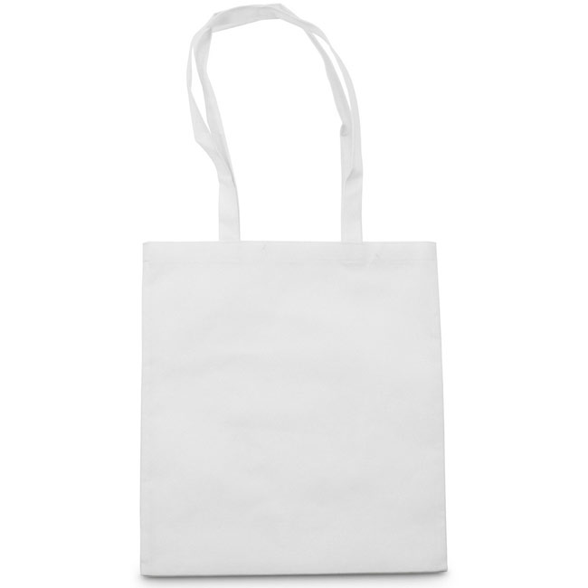 Shopping bag,White,W4V5805,Shopping Bags