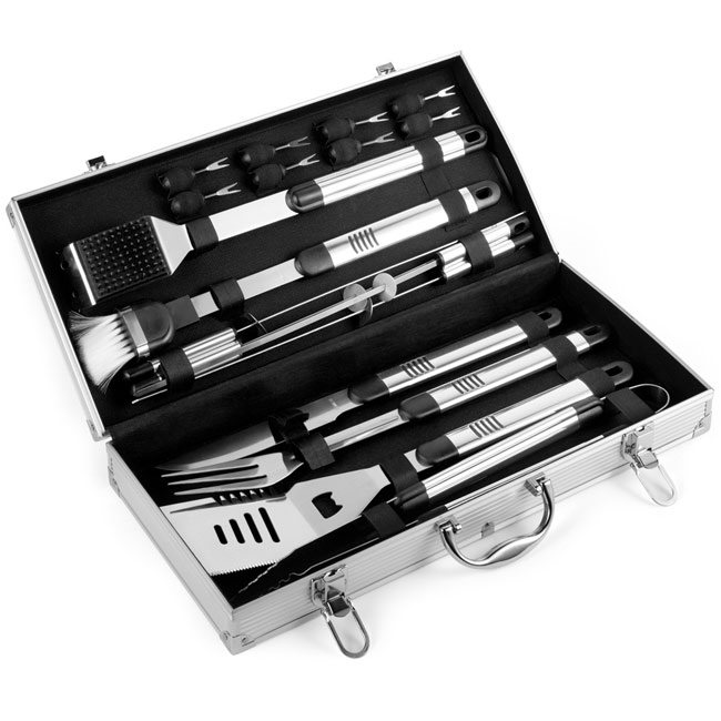 Barbecue set in case,W4V6394,Beach & Outdoor Items
