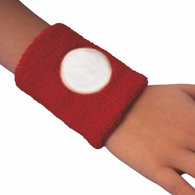 Cotton sweat band,Red,W4V6470,Sports Items