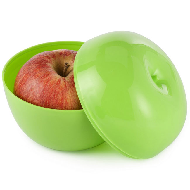 Storage box for apple/fruits,Light Green,W4V7509,Kitchen