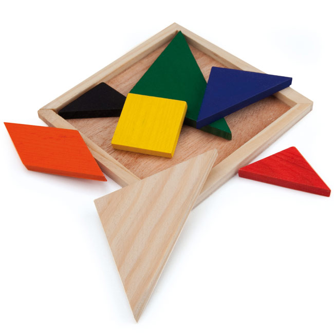 Chinese tangram puzzles,Multicolour,W4V7663,Games & Puzzles