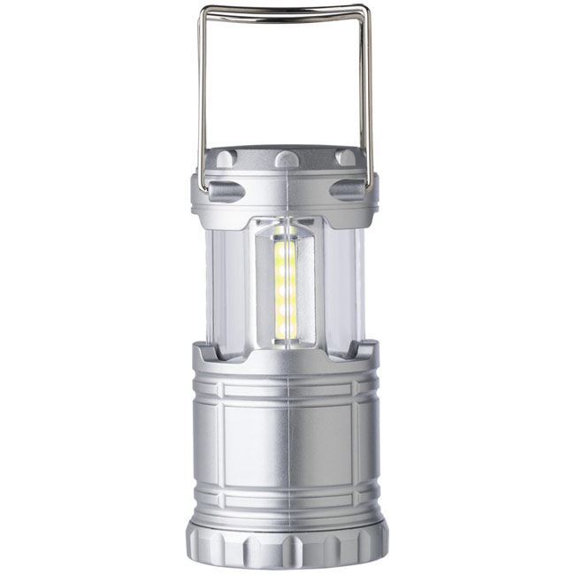 Camping lantern with COB light,Silver,W4V9760,Torches & LED