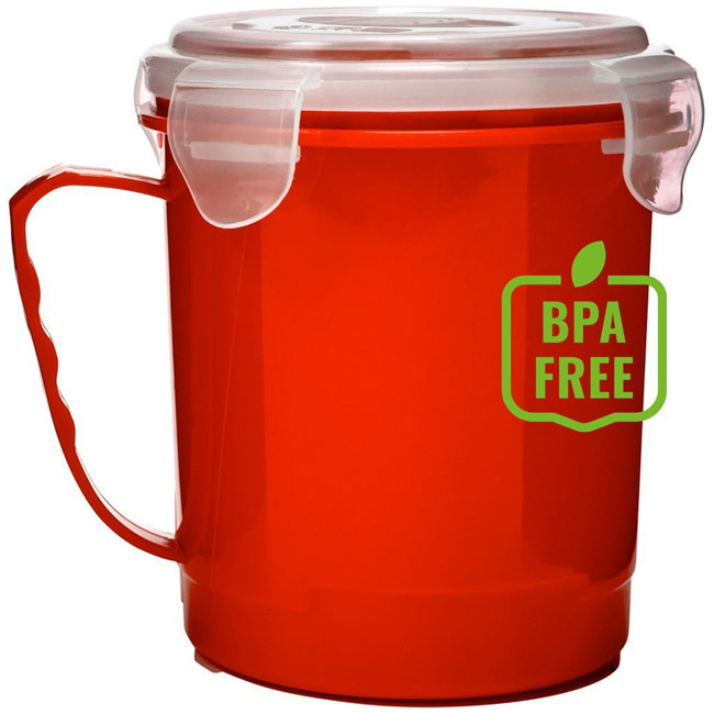 Microwave cup 720 ml,Red,W4V9899,Kitchen