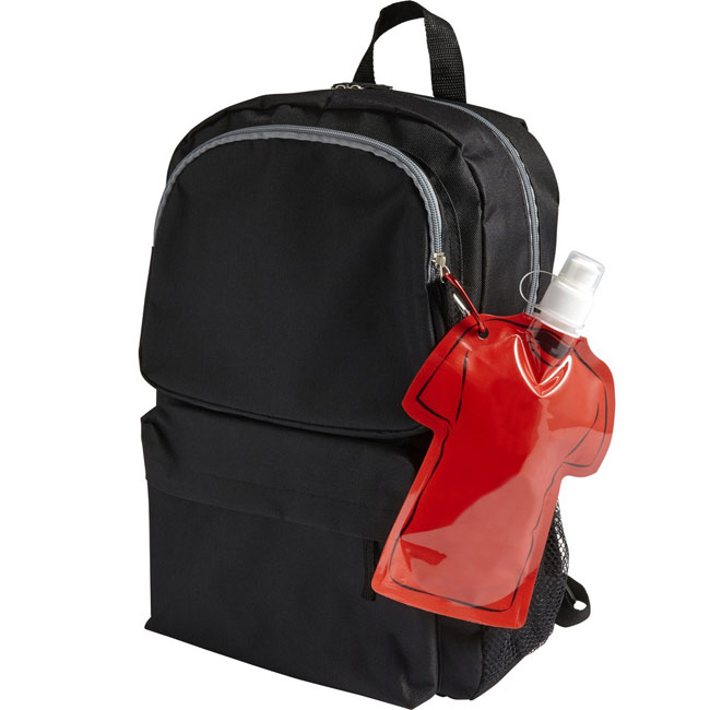 T-shirt Foldable sports bottle,Red,W4V9903,Sports Items