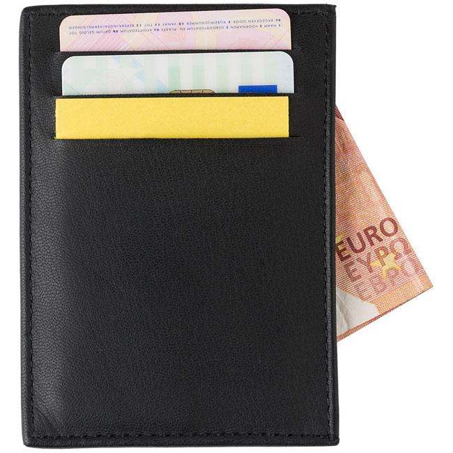 cheap for discount 3b7e3 27747 Promotional RFID safe Credit card holder (Item: W4V9916) plain or ...