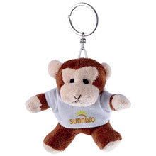 Promotional Nana, plush monkey, keyring