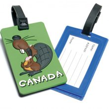 Promotional Soft PVC Luggage Tag