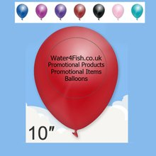 promotional Standard Balloon 10'',W4F0372,colour: Multicolour,Balloons,Water4Fish,promotional products