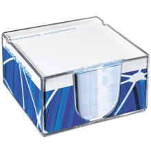 Compact MemoBlock,W4F0389,colour: Transparent,Notebooks,Water4Fish