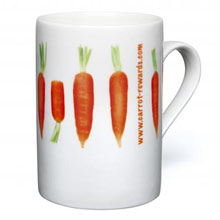 Duraglaze Fine China CanMug,W4F0458,Mugs - China & Plastic