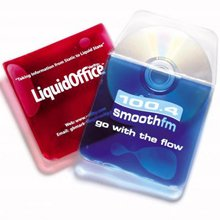 promotional Aqua CD Pocket,W4F0478,colour: Transparent,Mousemats & Coasters,Water4Fish,promotional products