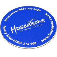 promotional SoftMat™ Coaster,W4F0479,colour: White,Mousemats & Coasters,Water4Fish,promotional products