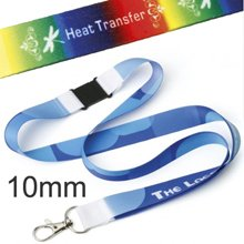 Promotional Dye Sublimation Lanyard - 10 mm