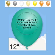 promotional Standard Balloon 12'',W4F0556,colour: Multicolour,Balloons,Water4Fish,promotional products