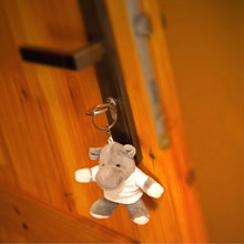 Promotional Iggy, Hippo in T-shirt, keyring