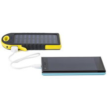 Promotional Power bank 4000 mAh, solar charger