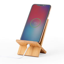Promotional Bamboo phone stand