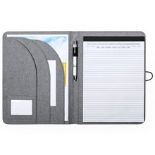 Promotional RPET conference folder A4 with notebook