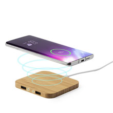 Bamboo wireless charger 5W