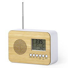 Promotional Desk clock with alarm, radio