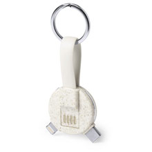 Promotional Keyring, charging and synchronization cable