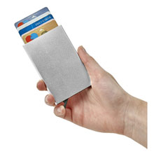 Promotional Credit card holder with RFID protection