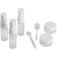 Promotional Travel set, containers