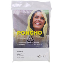 Promotional Poncho with hood