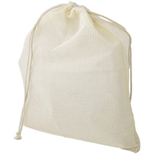 Promotional Organic cotton bag for fruit and vegetables