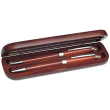 promotional Writing set in wooden box,W4V1115,colour: Wood,Pen Sets,Water4Fish,promotional products
