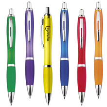 Promotional Soft grip ballpen