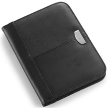 Conference folder A5 with notepad,Black,W4V2309,Conference bags & Folders