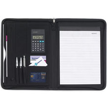 promotional Conference folder A4,W4V2355,colour: Black,Conference bags & Folders,Water4Fish,promotional products