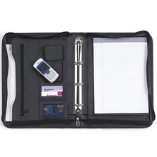 promotional Conference folder A4,W4V2369,colour: Black,Conference bags & Folders,Water4Fish,promotional products