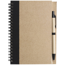 promotional Notepad / notebook with ball pen,W4V2389,colour: Black,Notebooks,Water4Fish,promotional products