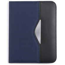 promotional Conference folder A5 with notepad,W4V2435,colour: Navy Blue,Conference bags & Folders,Water4Fish,promotional products
