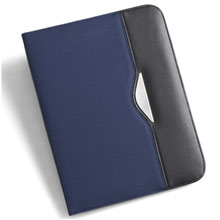 promotional Conference folder A5,W4V2436,colour: Navy Blue,Conference bags & Folders,Water4Fish,promotional products